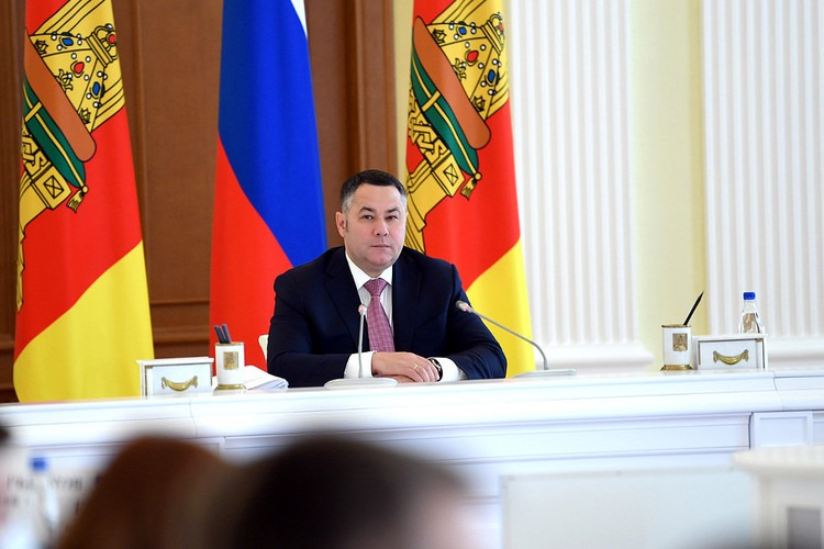 Губернатор Игорь Руденя. Фото: ПТО