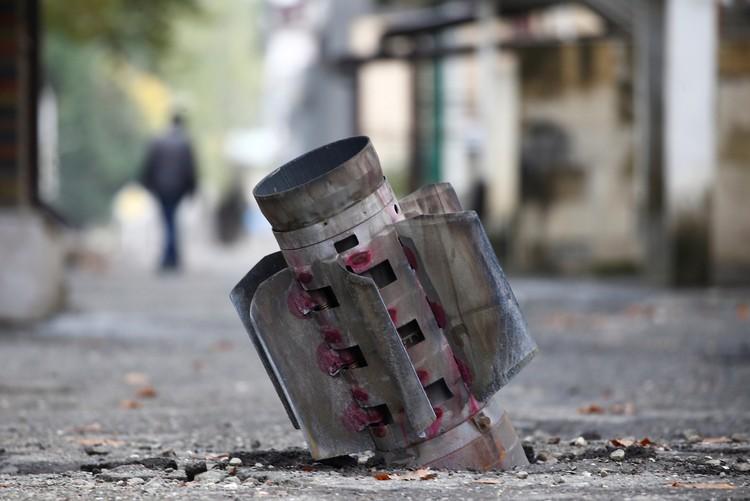 На улицах Степанакерта