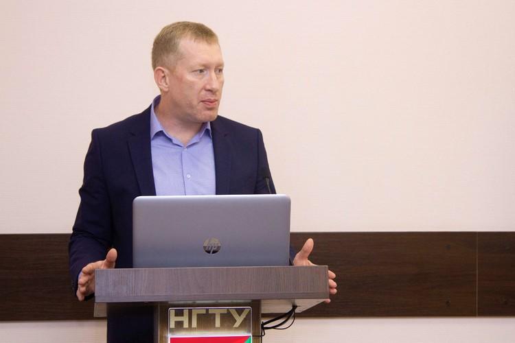 Николай Наумов рассчитывает на то, сотрудничество с вузом привлечет на предприятие молодых квалифицированных специалистов.