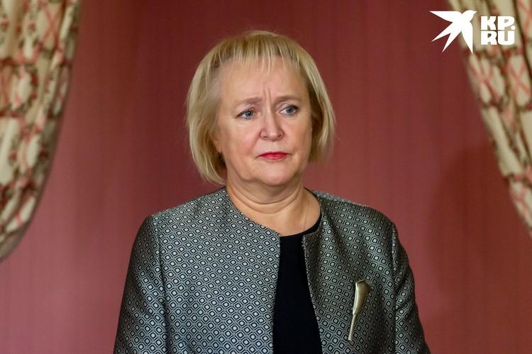 Ольга Таратынова, директор ГМЗ «Царское Село» и спикер Санкт-Петербургского международного культурного форума