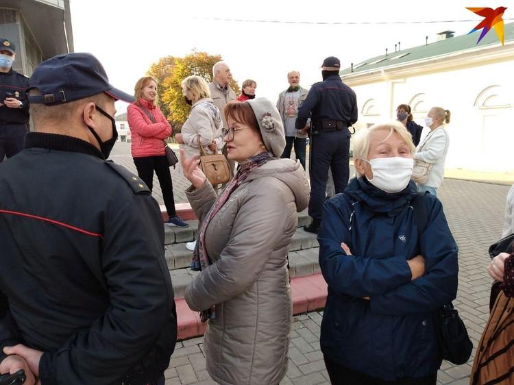 В Гомеле прошел «Марш пенсионеров».