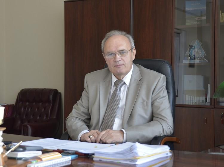 Исполнительный директор ООО «КНАУФ ГИПС НОВОМОСКОВСК» Анатолий Васильевич Макеев.
