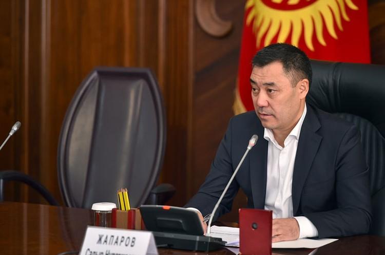После избрания на пост премьера Садыр Жапаров успел уже дважды провести заседания в правительстве.