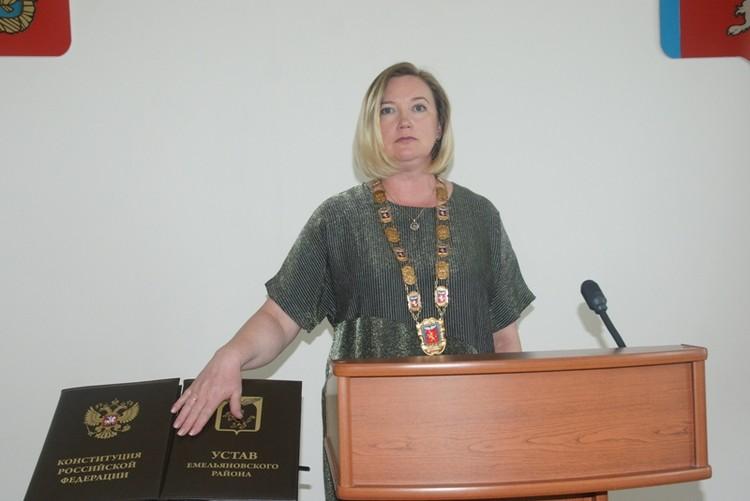 Наталья Ганина. Фото: официальный сайт Емельяновского района