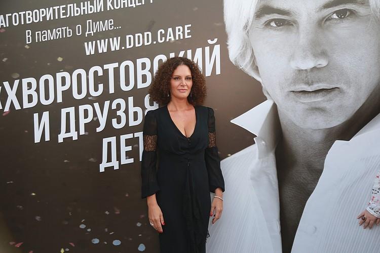 Флоранс, супруга Дмитрия Хворостовского