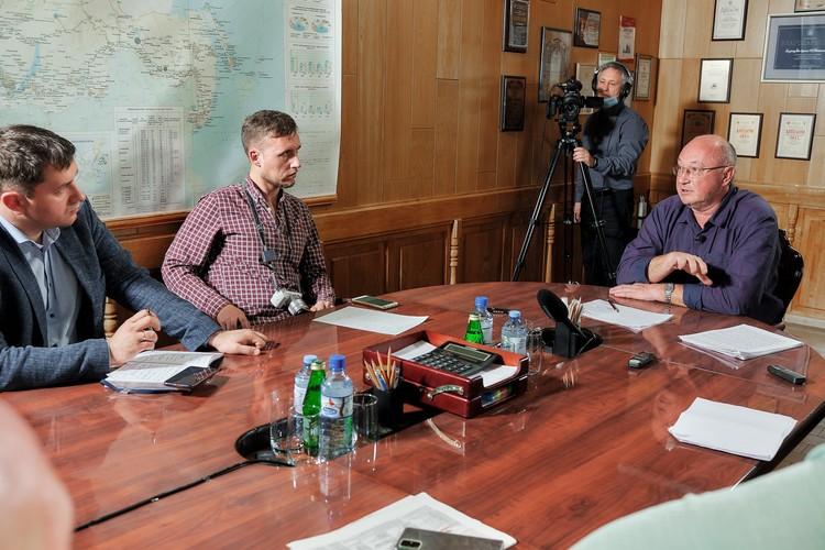 На пресс-конференции рассказали, куда предприятие платит налоги.