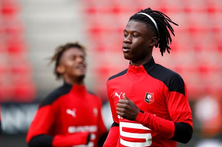 Главной звезде французского клуба Эдуардо Каваминга - всего 17 лет.