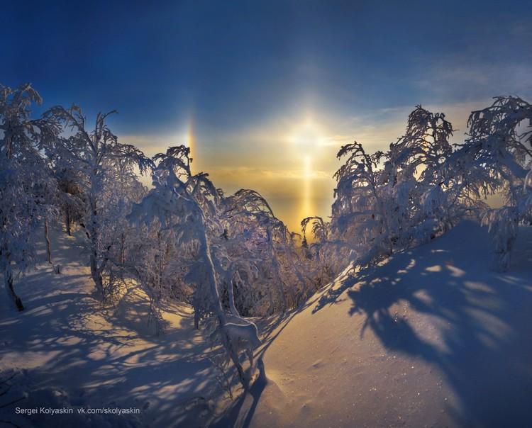 Фотограф стал охотников за редкими природными явлениями. Фото: Сергей Коляскин