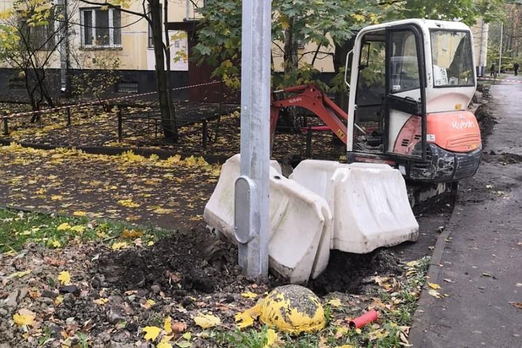 Мину уничтожили на спецполигоне. Фото: пресс-служба ГУ Росгвардии по СПб и ЛО