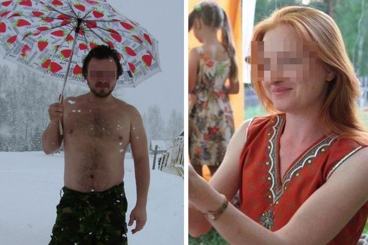 Надя Кладикова и Виталий Низемцев - родители, уморившие голодом 9-месячного сына.