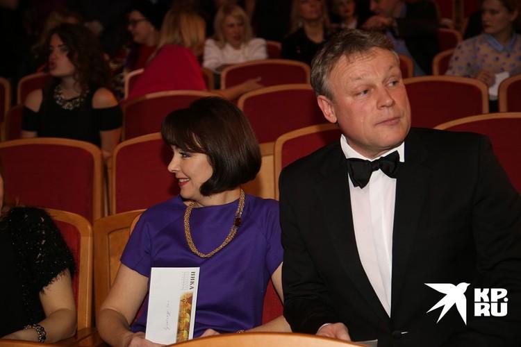 Сергея Жигунов с бывшей супругой Верой Новиковой