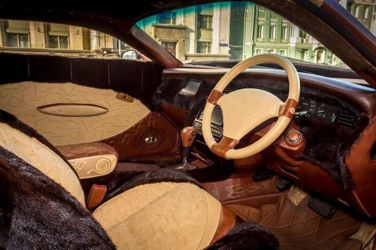 Кажется, в такой машине не замёрзнешь даже в самые лютые русские морозы.