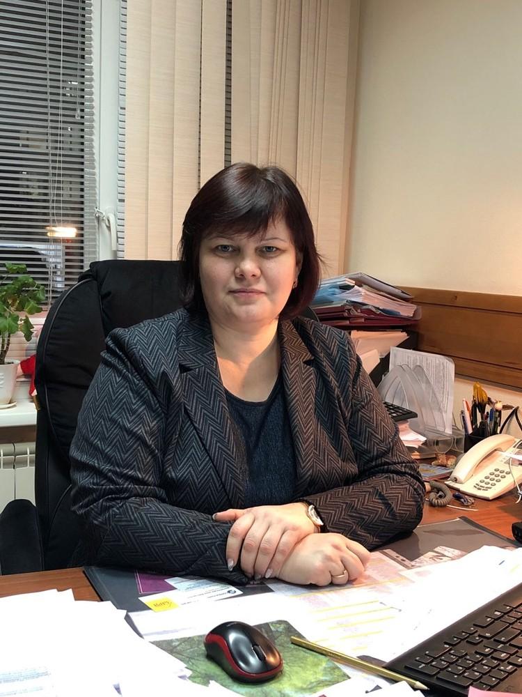 Лариса Белецкая, заместитель министра сельского хозяйства и торговли Красноярского края