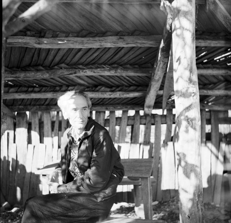 Даниил Андреев в Горячем Ключе 31 октября 1958-го. Фото Аллы Андреевой.