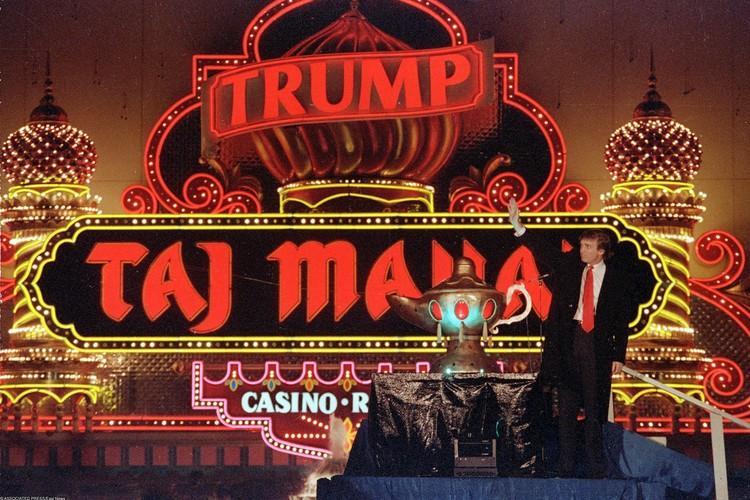 Трамп построил целую сеть казино и отелей