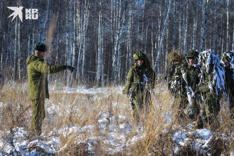 В Сибири на учениях можно отработать самые разные климатические условия.