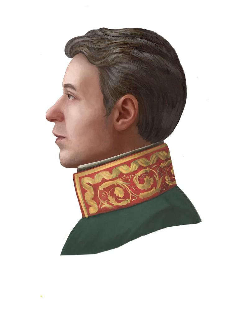 Цветное объемное изображение Стемпковского войдет в музеную коллекцию. Фото: ВКИКМЗ