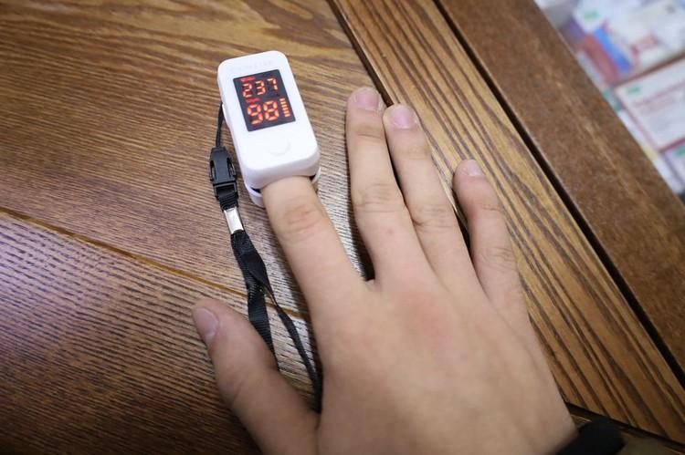 Видите? У этого пациента показатели сатурации в норме. Фото: Минздравствуйте / Telegram.com