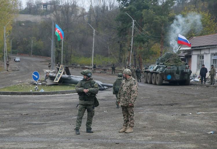 В двух населенных пунктах Нагорного Карабаха введен комендантский час.