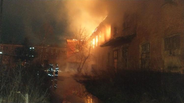 Пожар локализован на площади 1300 кв.м. Фото: МЧС России
