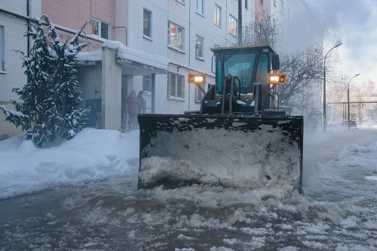 В 2019 году власти решили заменить песок на реагенты, что снизило количество соляной смеси на улицах Ижевска в 20 раз