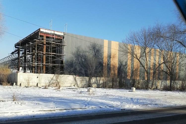 К концу 2020 года строительство планируют завершить. Фото: читатель КП