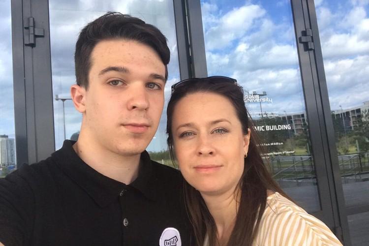 У Натальи с сыном очень теплые, равные отношения. Фото: предоставлено героем публикации
