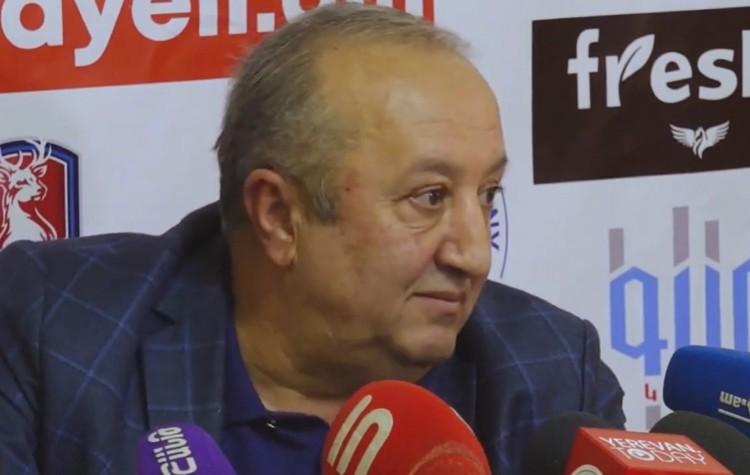 Бывший начальник службы военного контроля Минобороны Армении генерал-полковник Мовсес Акопян.