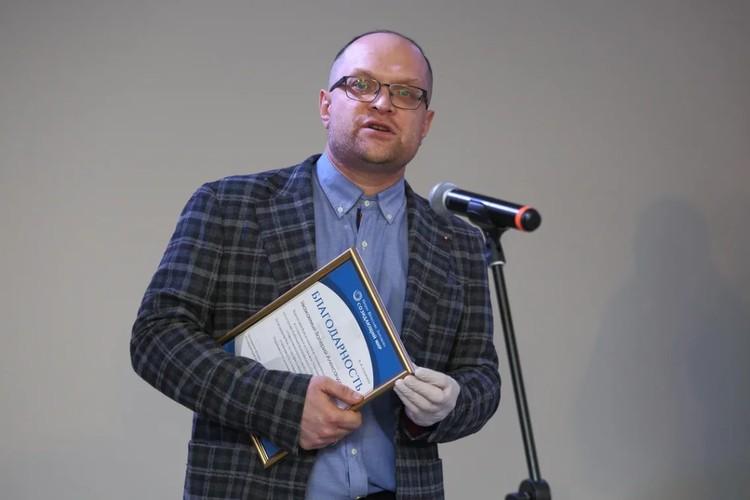 Конструктор Валерий Калинин. Фото: Дмитрий Песочинский.