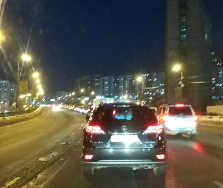 Транспорт на Гоголя застыл в ожидании. Фото: dpskontrol125rus
