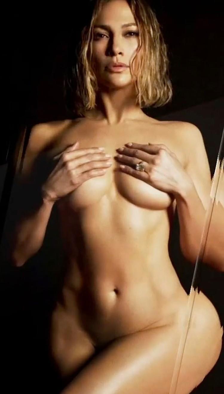 Джей Ло поделилась в Инстаграме кадрами рекламного ролика, в котором она снялась для продвижения своего бренда. Фото: кадр видео.