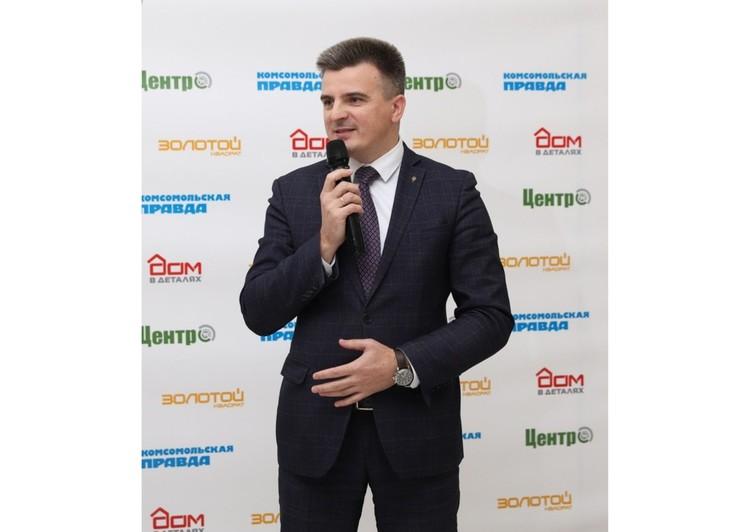 Председатель комитета Тульской области по предпринимательству и потребительскому рынку Вячеслав Романов