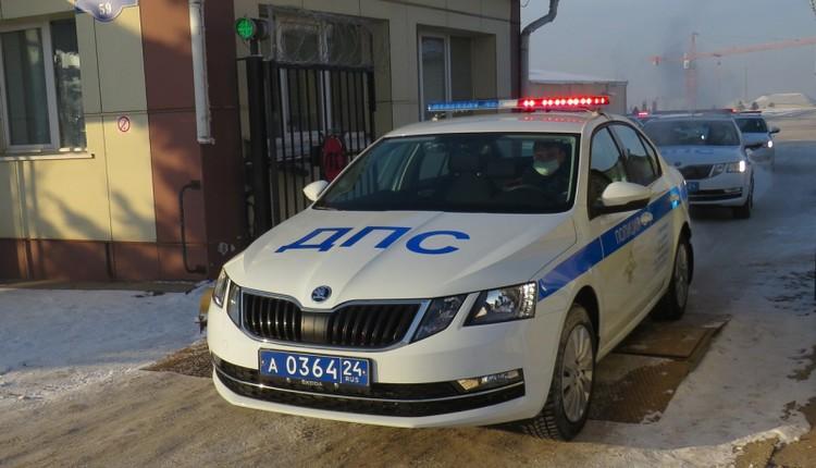 Автомобили уже поступили в распоряжение сотрудников ГИБДД