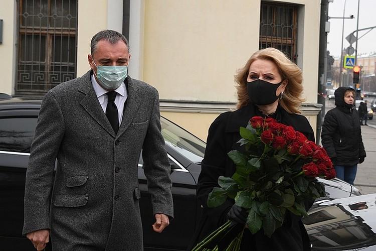 Татьяна Голикова приехала на прощание с Ириной Антоновой