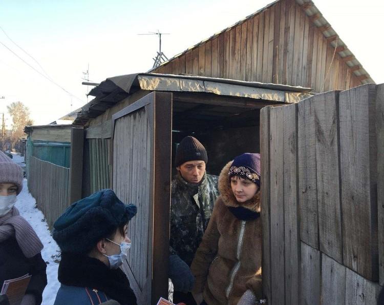 Особое внимание – многодетным семьям и пенсионерам. Фото:пресс-служба администрации Красноярска.