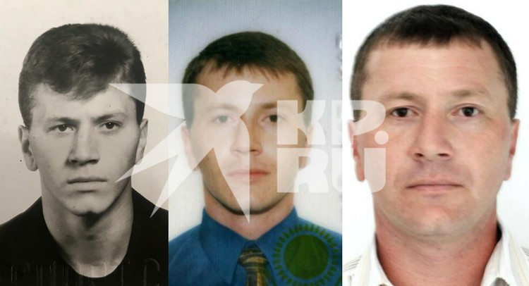 На фото (слева) Николай Павлюк в сентябре 1993 года, далее - Михаил Уткевич в 2003 и 2013 годах.