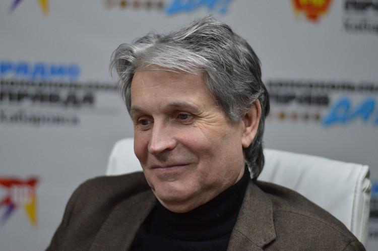 Владимир Гажала, директор Хабаровского дорожно-строительного техникума