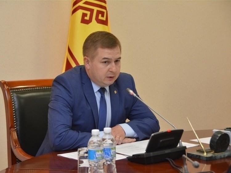Глава Минздрава Чувашии Владимир Степанов.