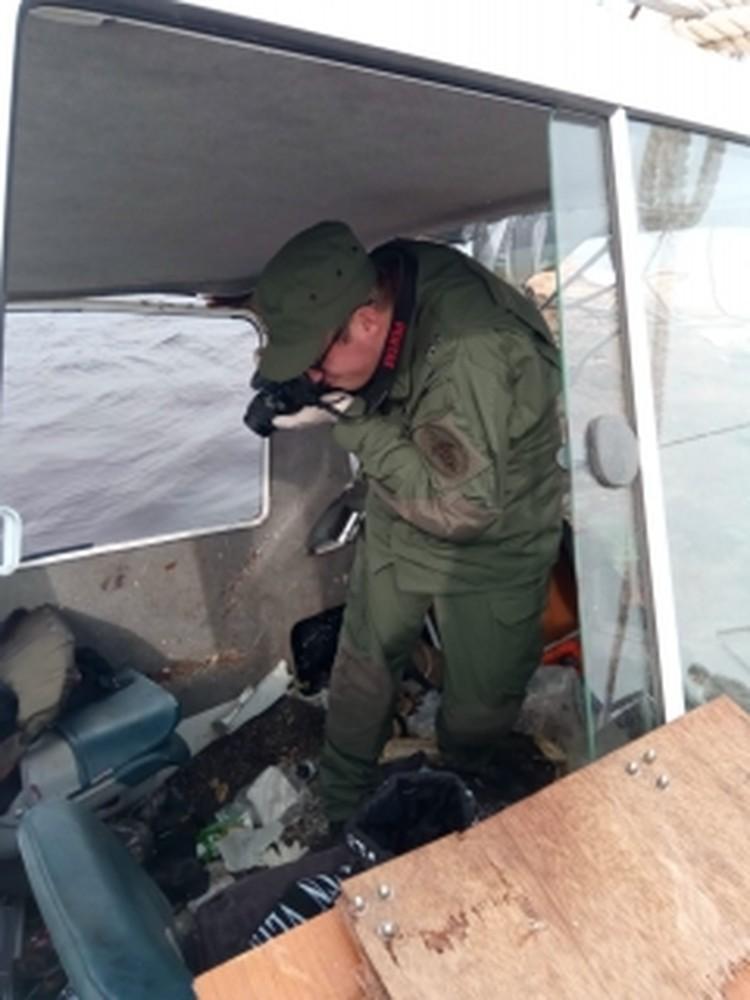 Следователи на месте происшествия. Фото: СК РФ по ХМАО-Югре