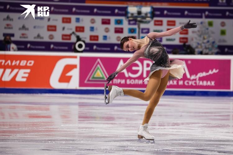 Анна Щербакова представила нежный, но очень выразительный танец