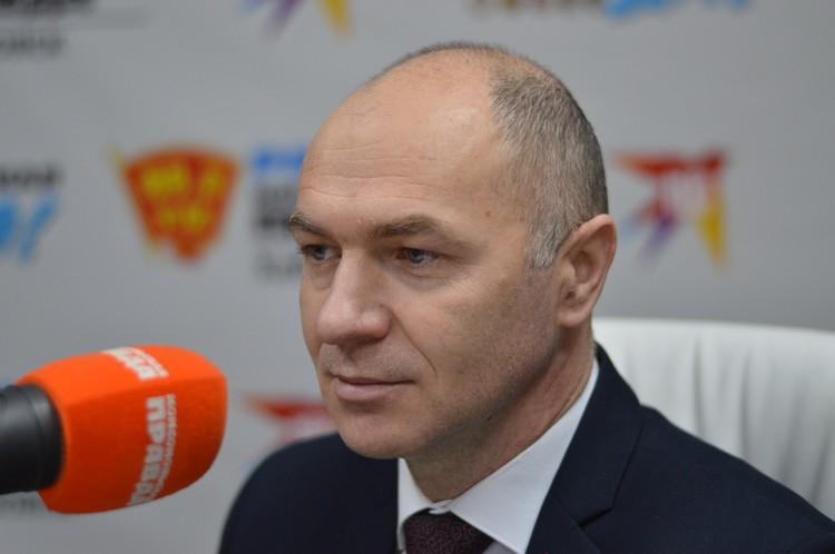 Виктор Зубарев, начальник Управления Министерства инвестиционного развития и предпринимательства Хабаровского края