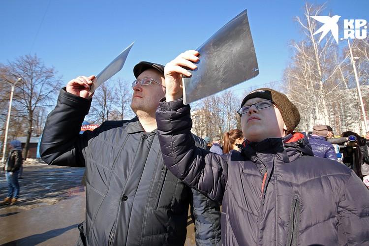 Судя по ажиотажу, которым в последние годы сопровождается затмение, люди стали чаще смотреть на небо