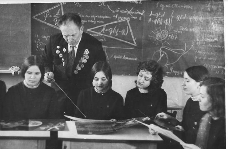 Виктор Федорович разработал свой метод обучения. Фото: архив Виктора Шаталова