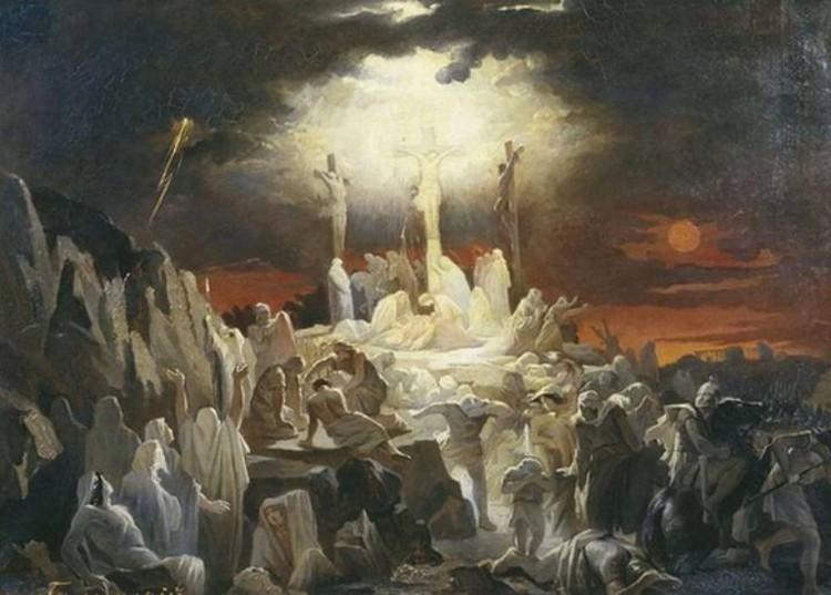 Помимо землетрясения в день казни Иисуса Христа случилось еще и солнечное затмение.