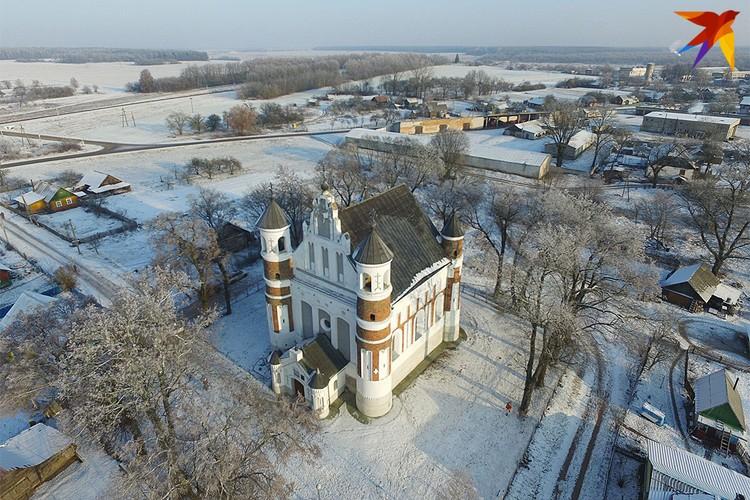 Церковь Рождества Богородицы в Щучинском районе.