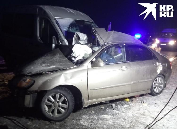В автомобиле никто не выжил