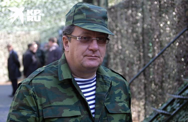 2009 год, Сергей Приходько, помощник президента РФ, на учениях.