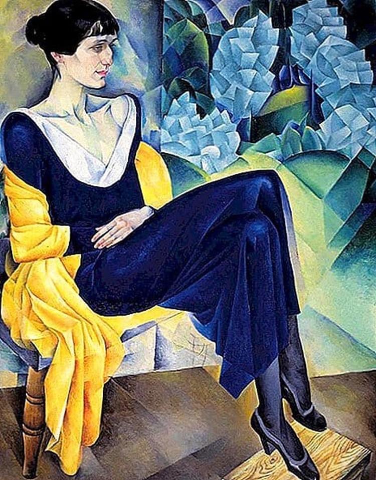 До войны современники лучше знали портреты Ахматовой, чем ее стихи. Когда Ахматова входила в зал, люди ахали: перед ними была та самая женщина со знаменитого портрета Альтмана.
