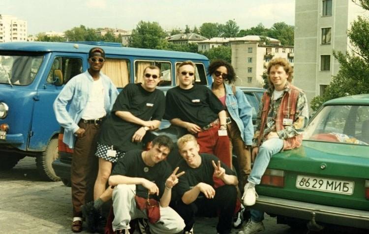 Elegent Company, можно сказать, были пионерами хип-хопа в Беларуси. Фото: личный архив