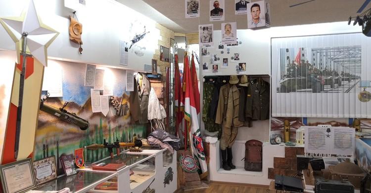Экспозиция музея - не только об афганской войне.